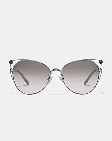 TEA ROSE CAT EYE OPEN SUNGLASSES