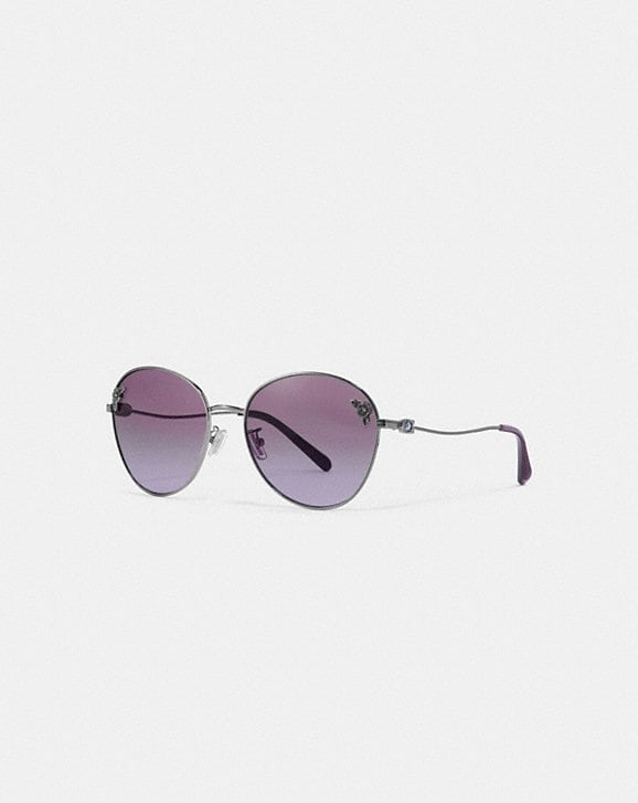 Coach TEA ROSE OVAL SUNGLASSES