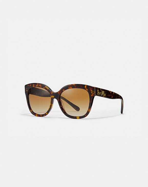 Coach SIGNATURE SQUARE SUNGLASSES