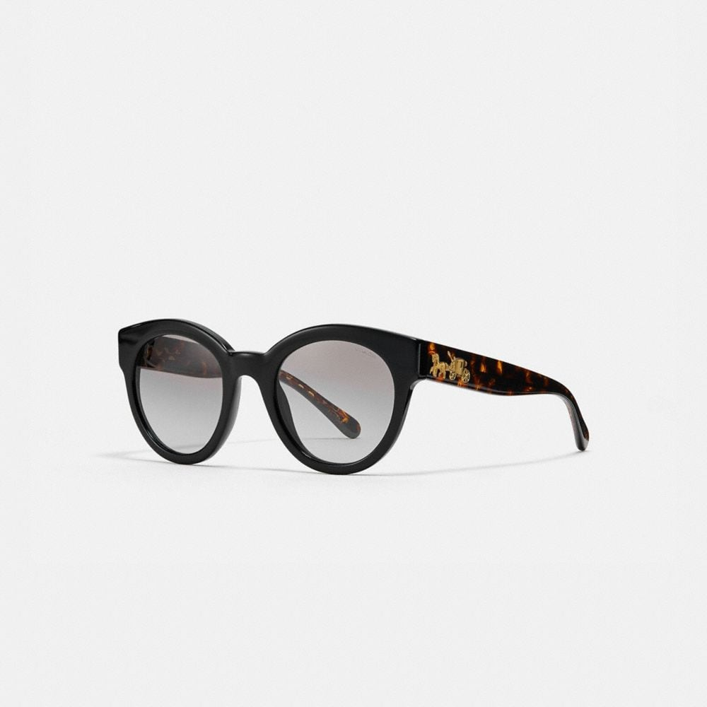 Coach Signature Round Sunglasses