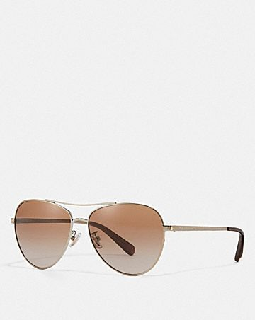 RYAN JEWELED PILOT SUNGLASSES