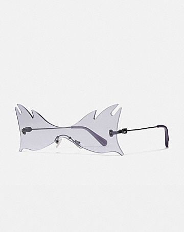 SHIELD CAT EYE SUNGLASSES