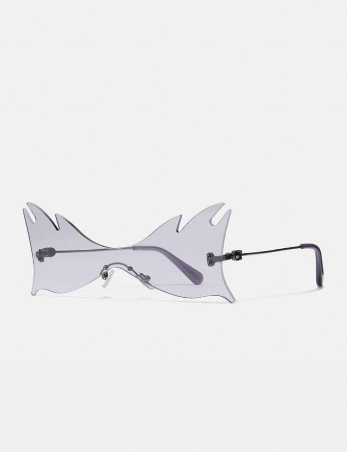 Coach Shield Cat Eye Sunglasses Violet