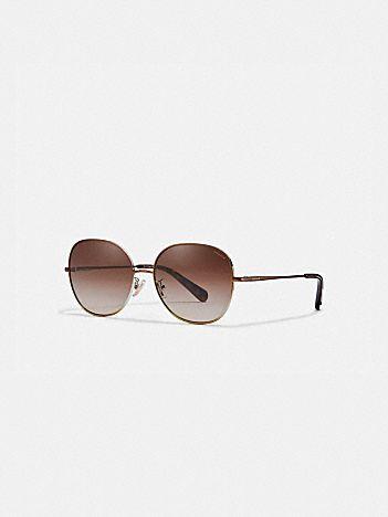 wire frame round sunglasses