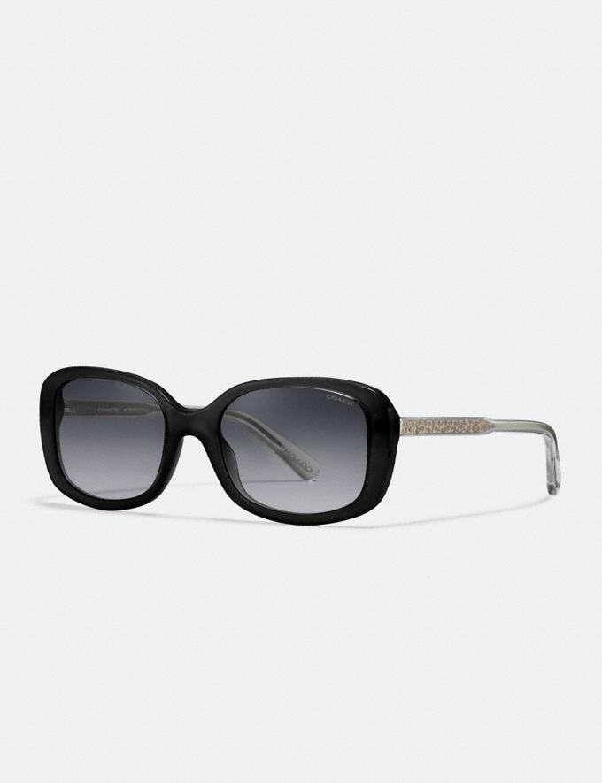 COACH: Signature Rectangle Sunglasses