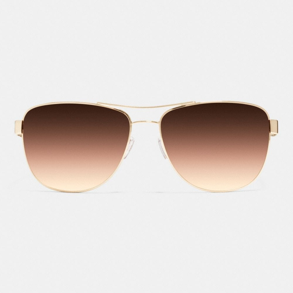 Whiplash Aviator Sunglasses - Alternate View L1