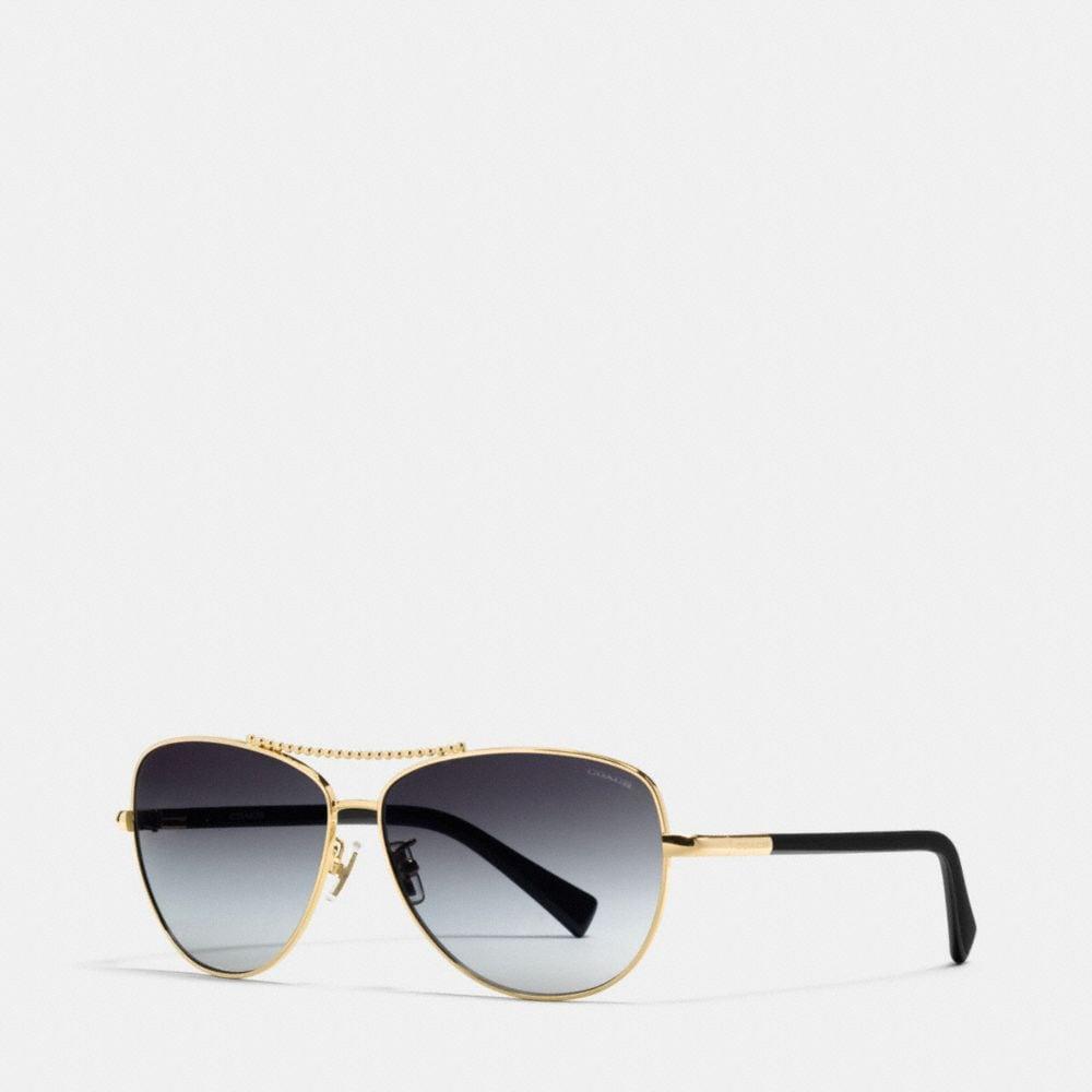 Beadchain Pilot Sunglasses