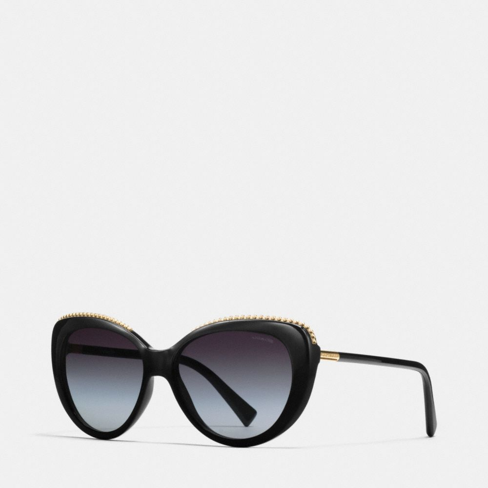 Coach Beadchain Cat Eye Sunglasses