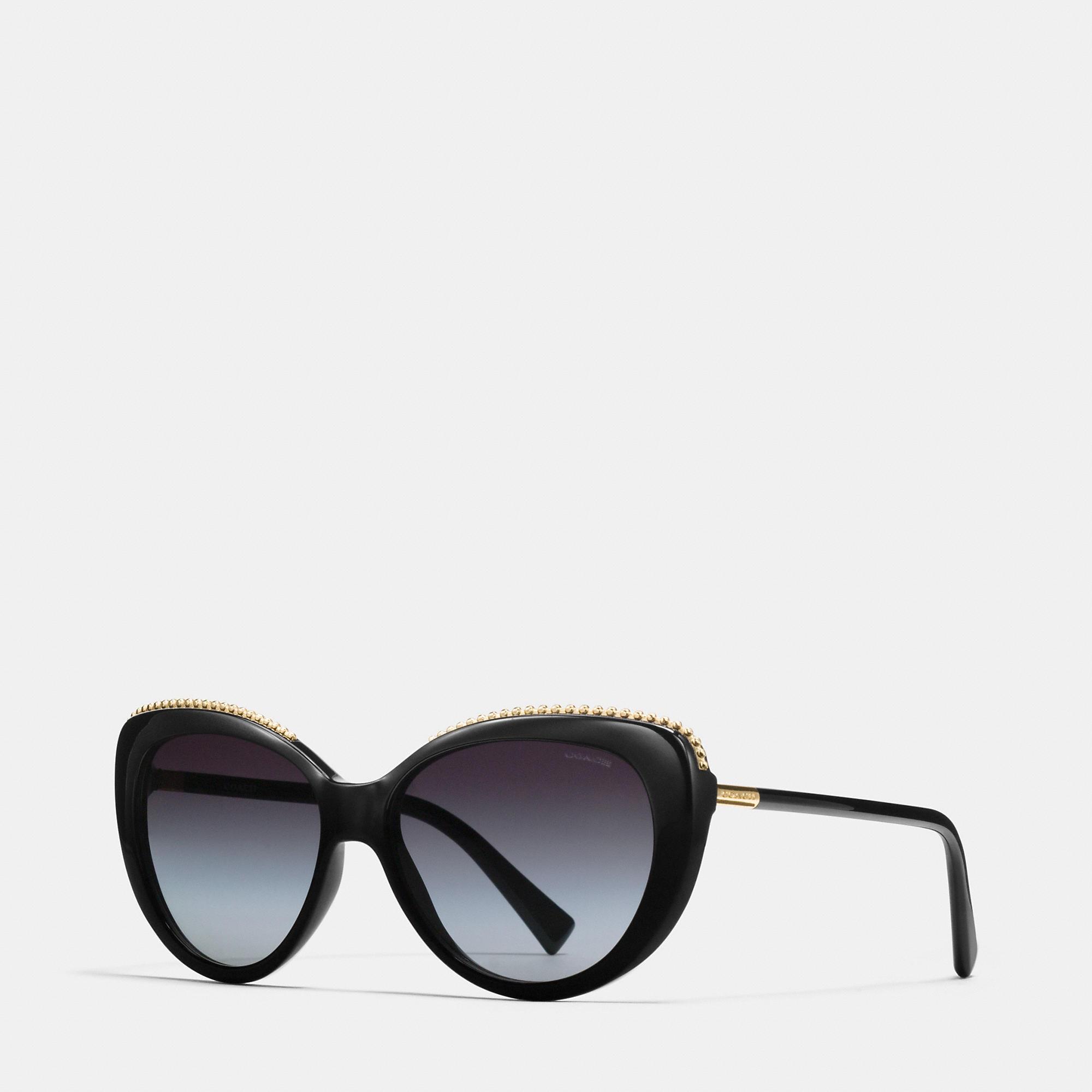 Coach Beadchain Cat Eye Sunglasses
