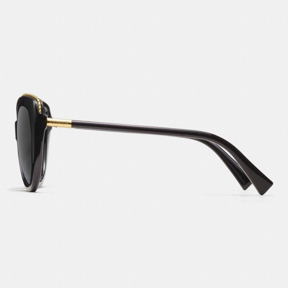 Beadchain Cat Eye Sunglasses - Alternate View L2