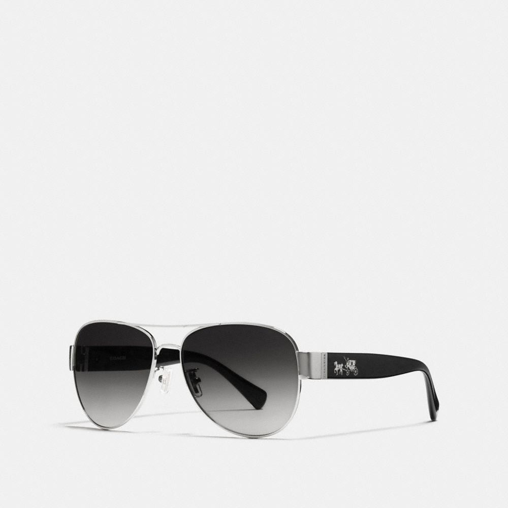 Coach Horse and Carriage Pilot Sunglasses