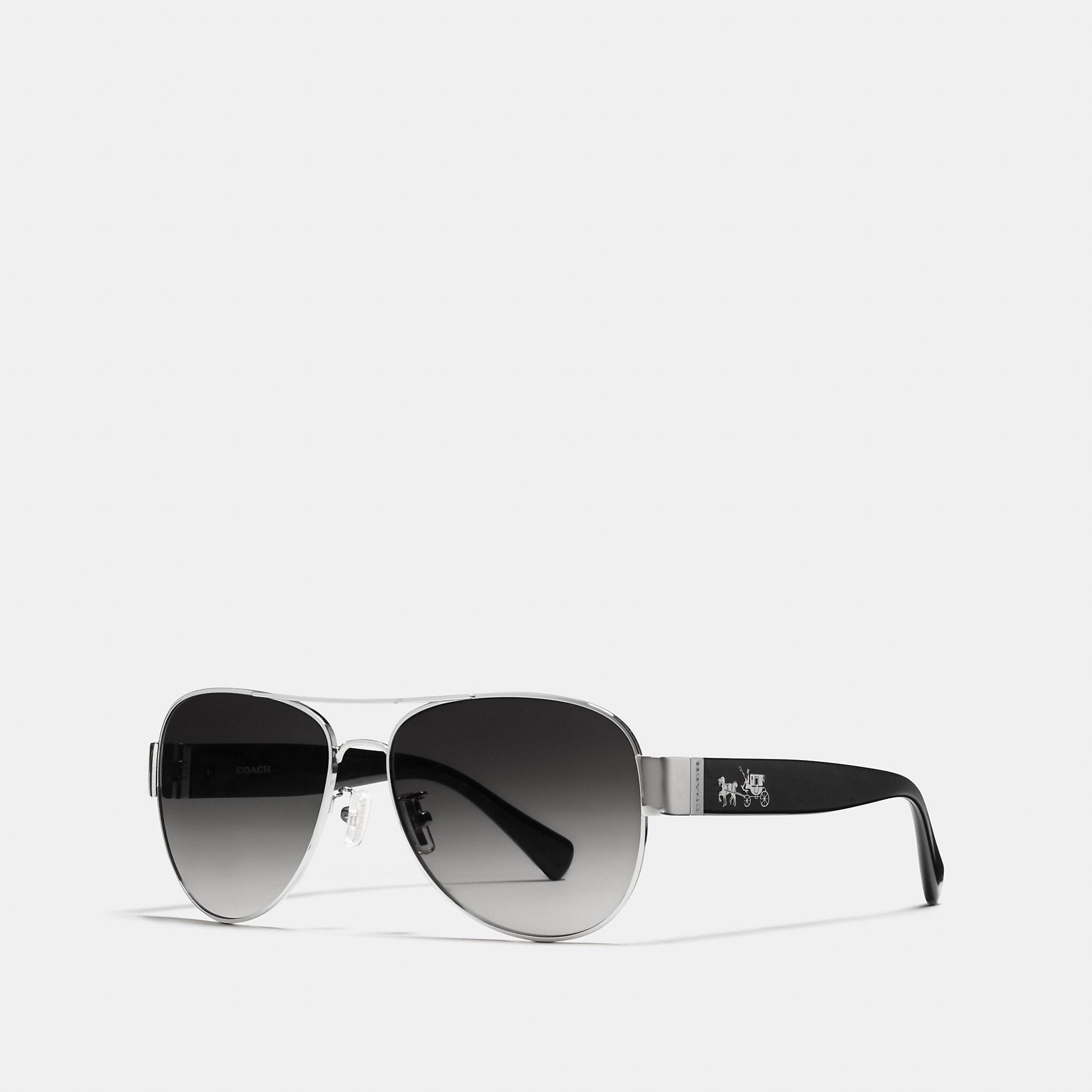 Coach Horse And Carriage Pilot Sunglasses