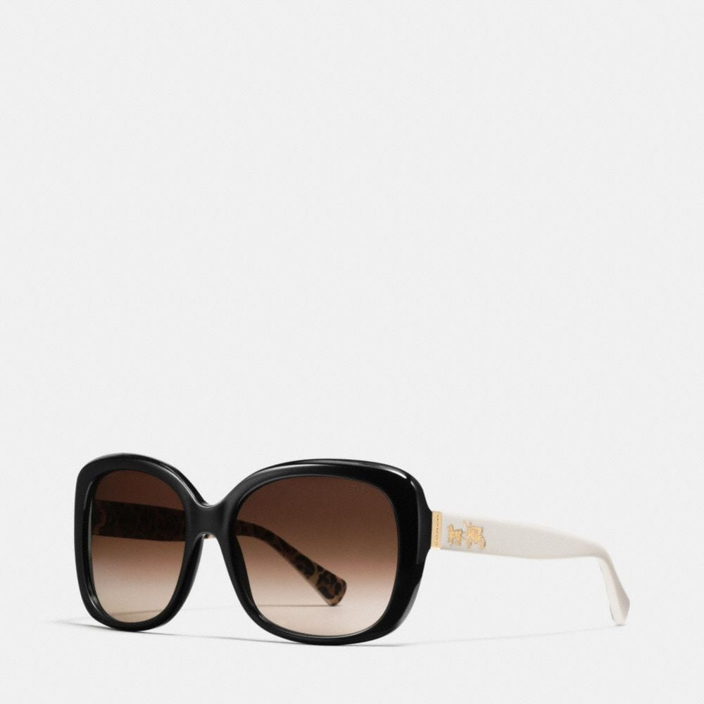 HORSE AND CARRIAGE SQUARE SUNGLASSES
