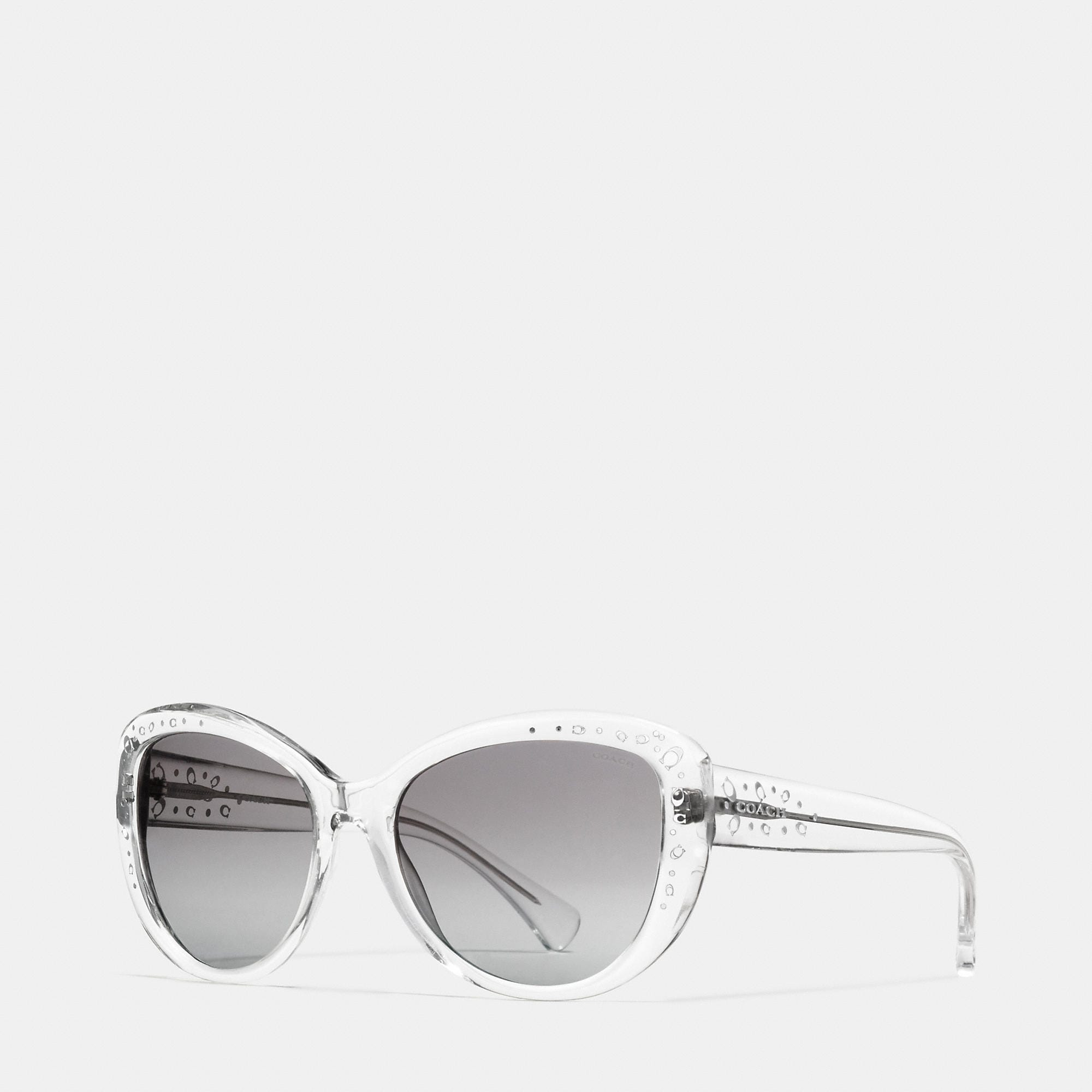 Coach Signature Spray Cat Eye Sunglasses