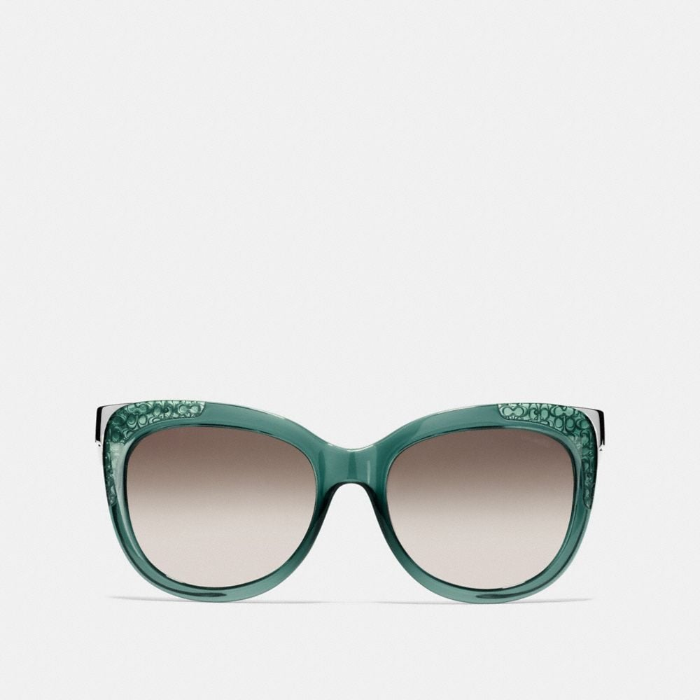 Coach Signature Square Sunglasses Alternate View 1