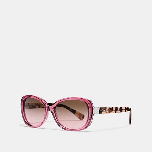 55d521655002 Coach Butterfly Aviator Sunglasses. Rimless Aviator (s1013) Womens Coach  Sunglasses