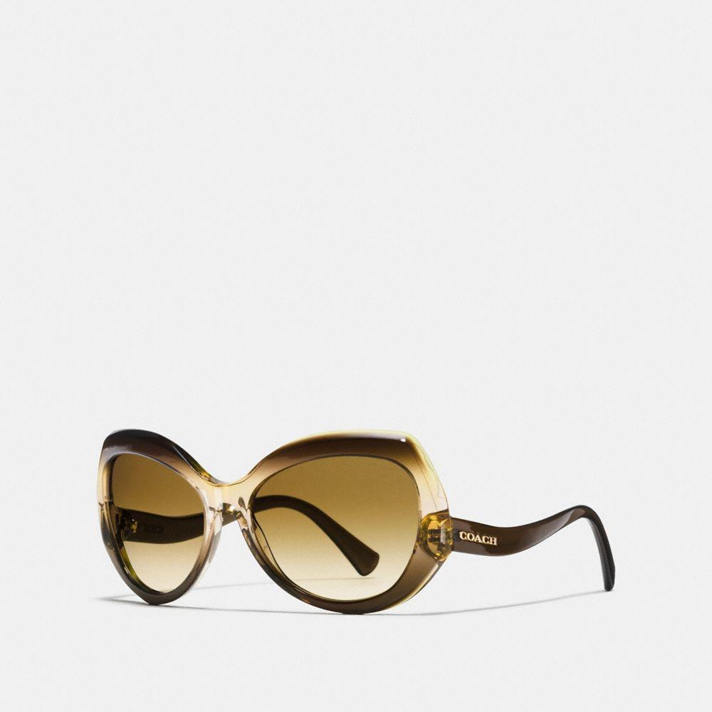 Coach Idol Hexagon Sunglasses
