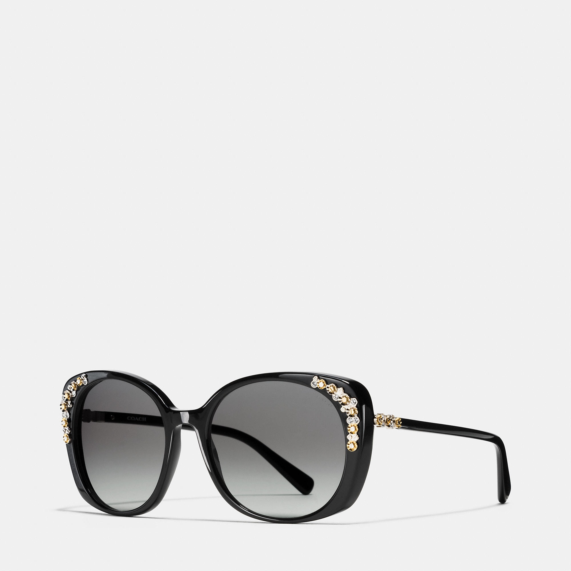 Coach Daisy Rivet Cat Eye Sunglasses