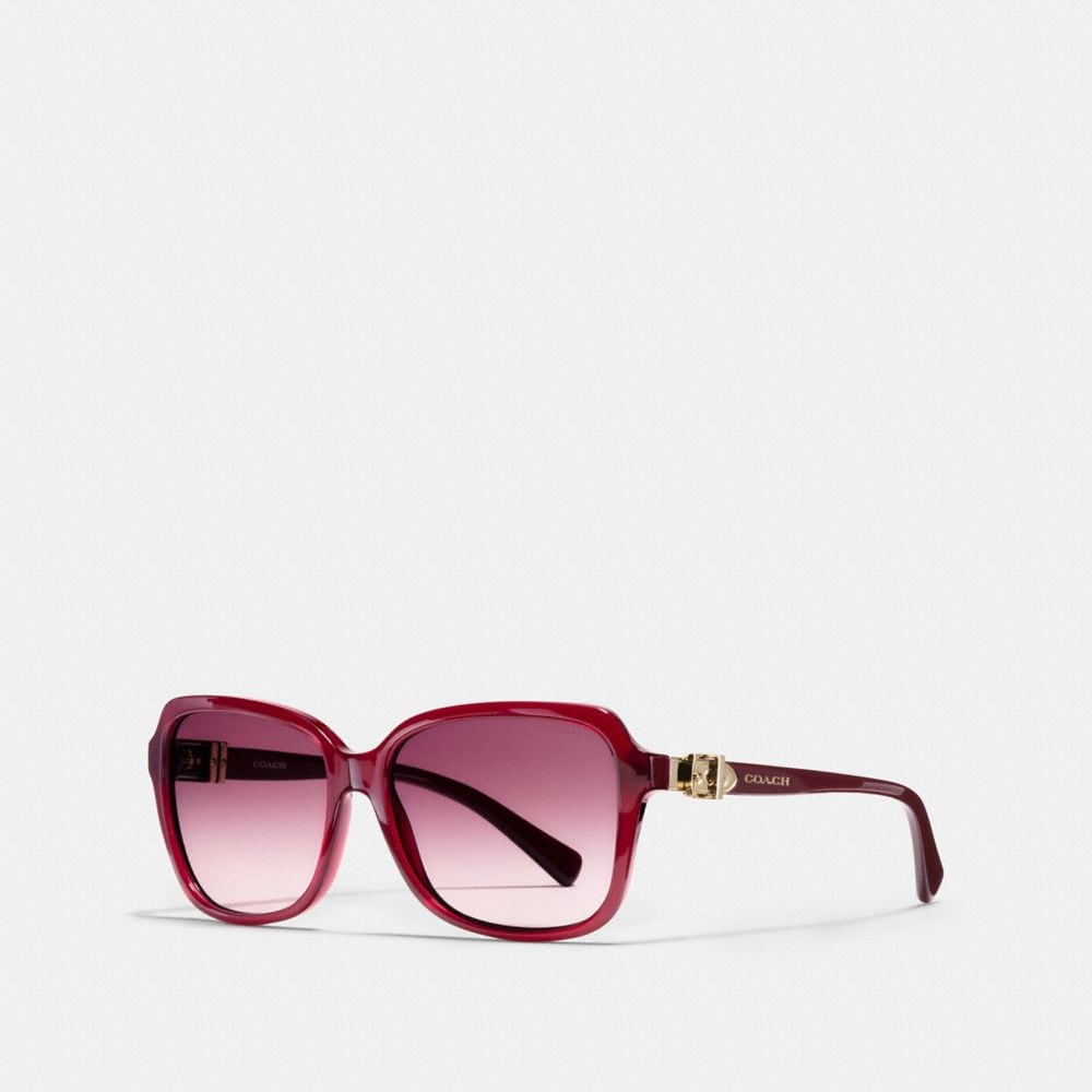 Coach Buckle Square Sunglasses