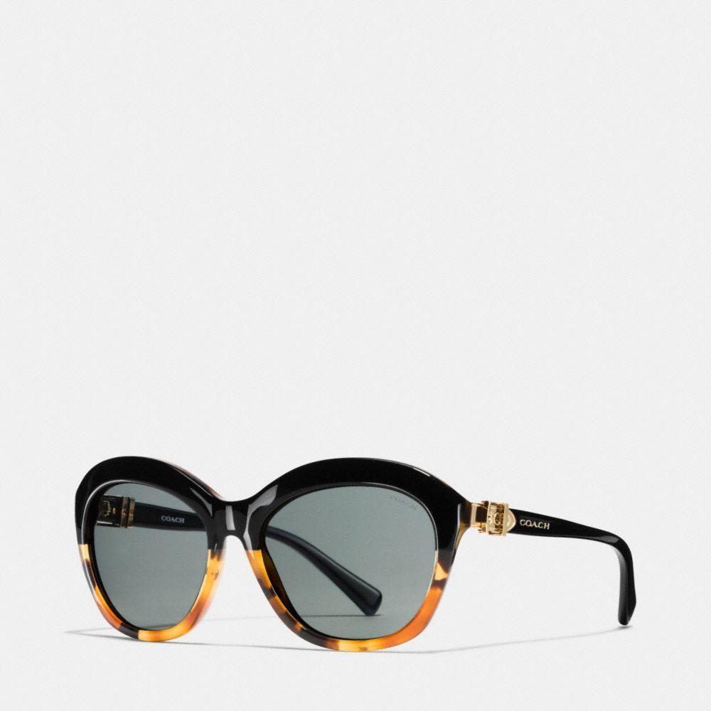 Coach Buckle Cat Eye Sunglasses