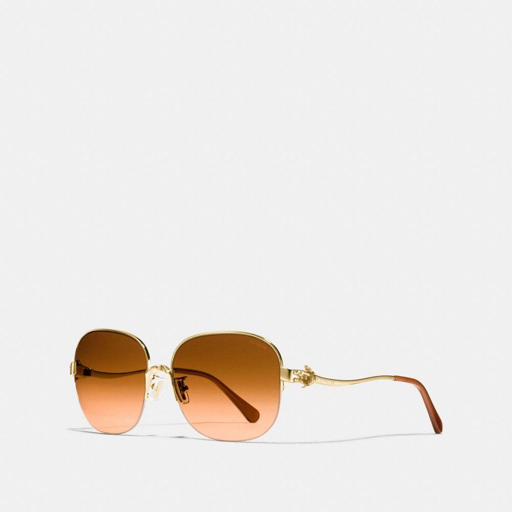 Tea Rose Square Sunglasses