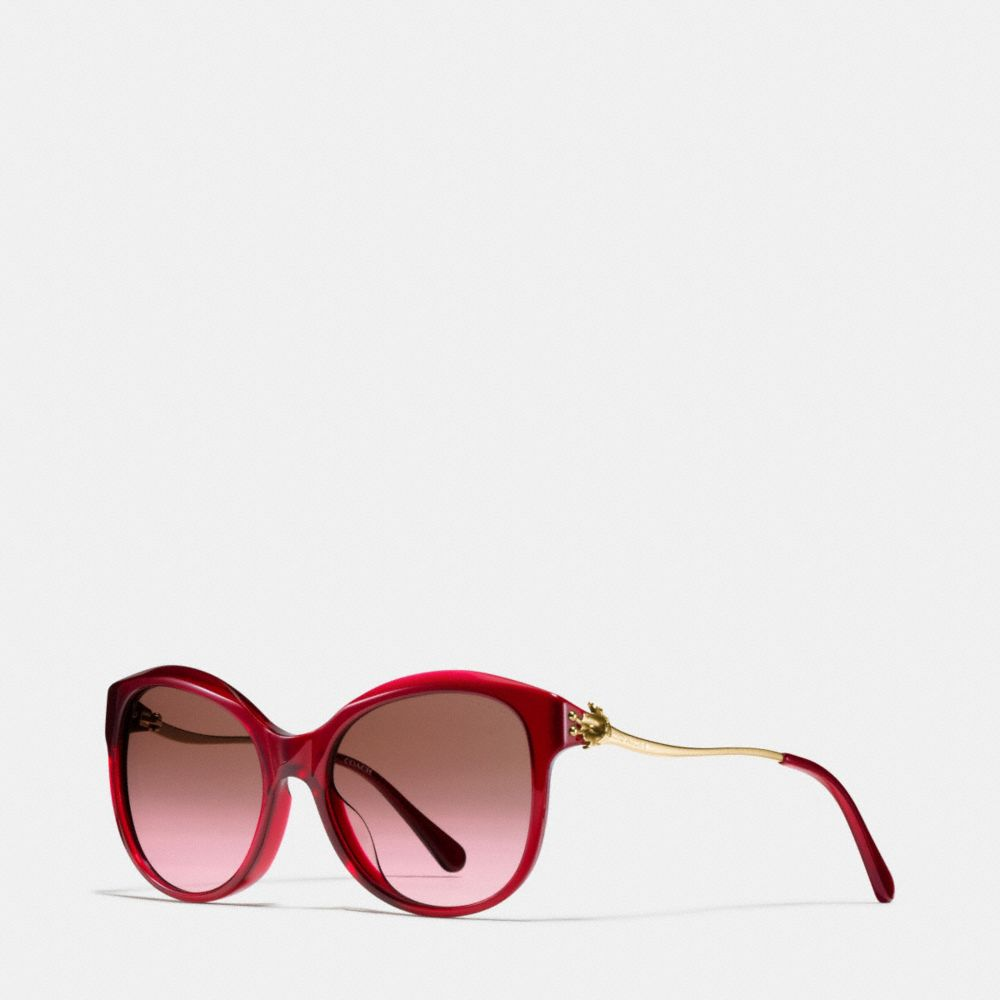 TEA ROSE CAT EYE SUNGLASSES