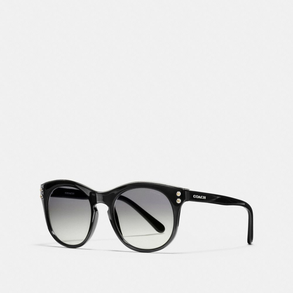 COACH NEW YORK ROUND SUNGLASSES