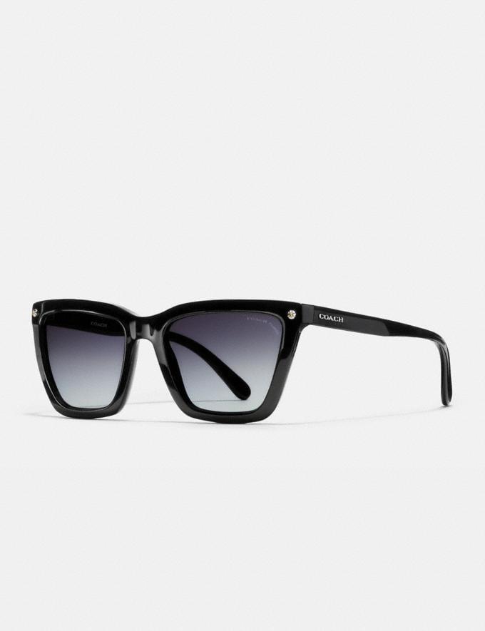 2f66abcdd81b Coach Coach New York Square Sunglasses Ivory Horn Women Accessories  Sunglasses