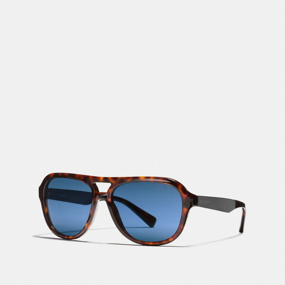 Coach James Pilot Sunglasses