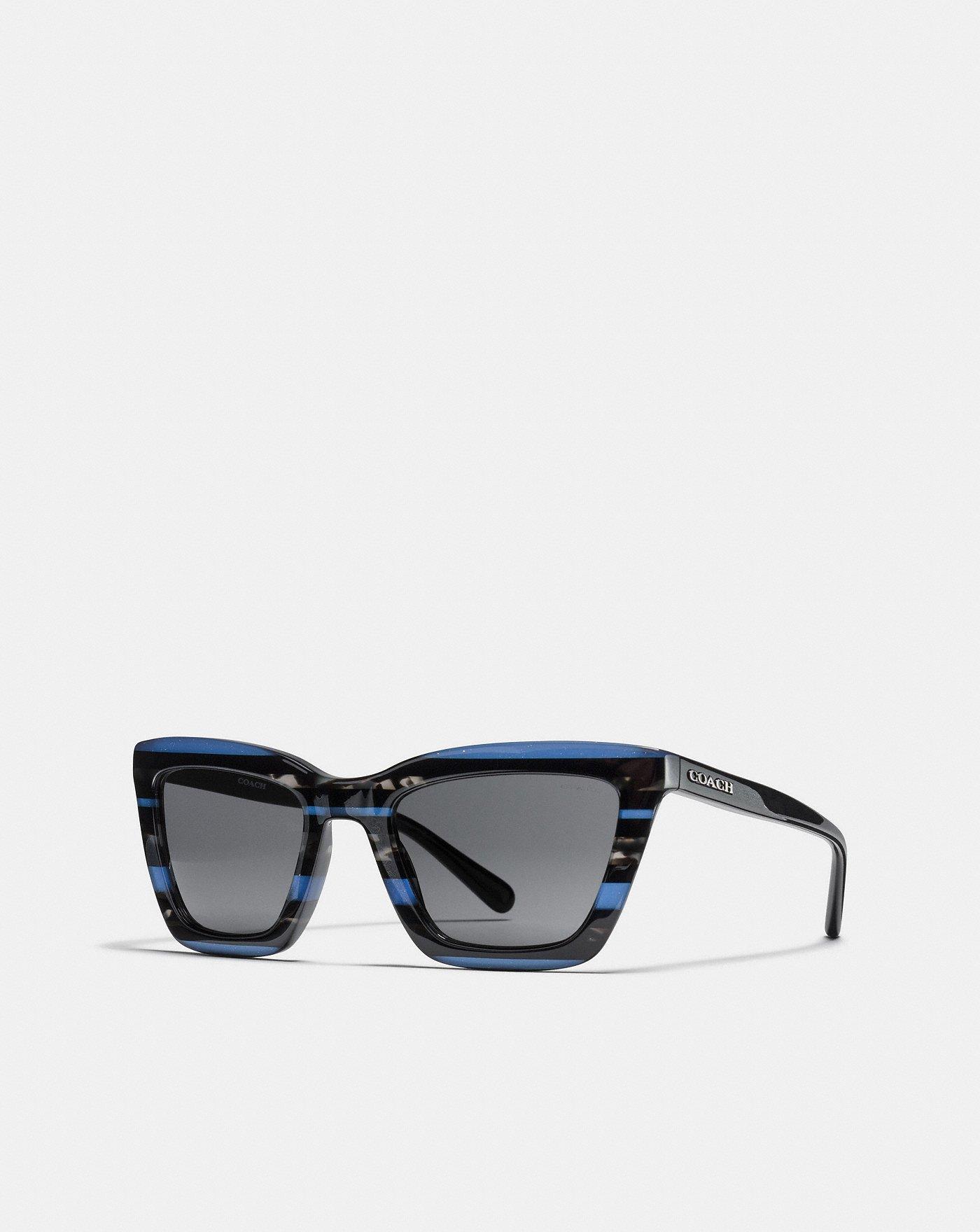 c79e07b666 COACH  Varsity Rectangle Sunglasses