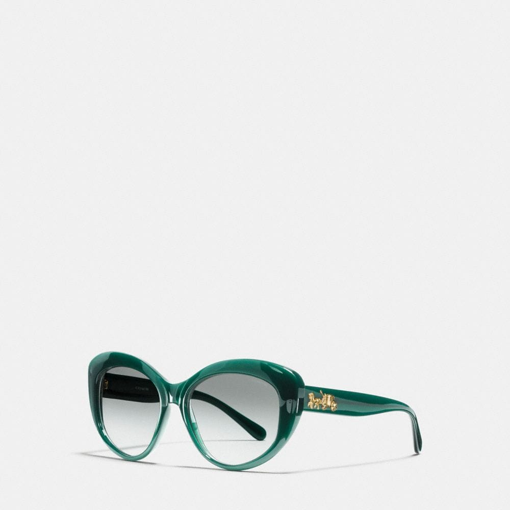 HORSE AND CARRIAGE BUTTERFLY SUNGLASSES