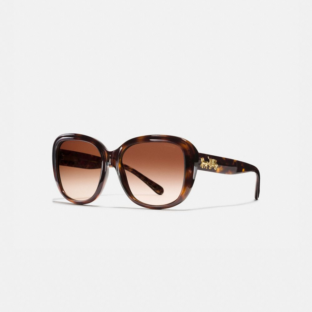 Coach Horse and Carriage Soft Square Sunglasses