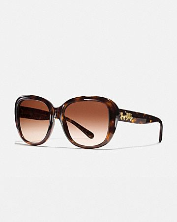 HORSE AND CARRIAGE SOFT SQUARE SUNGLASSES