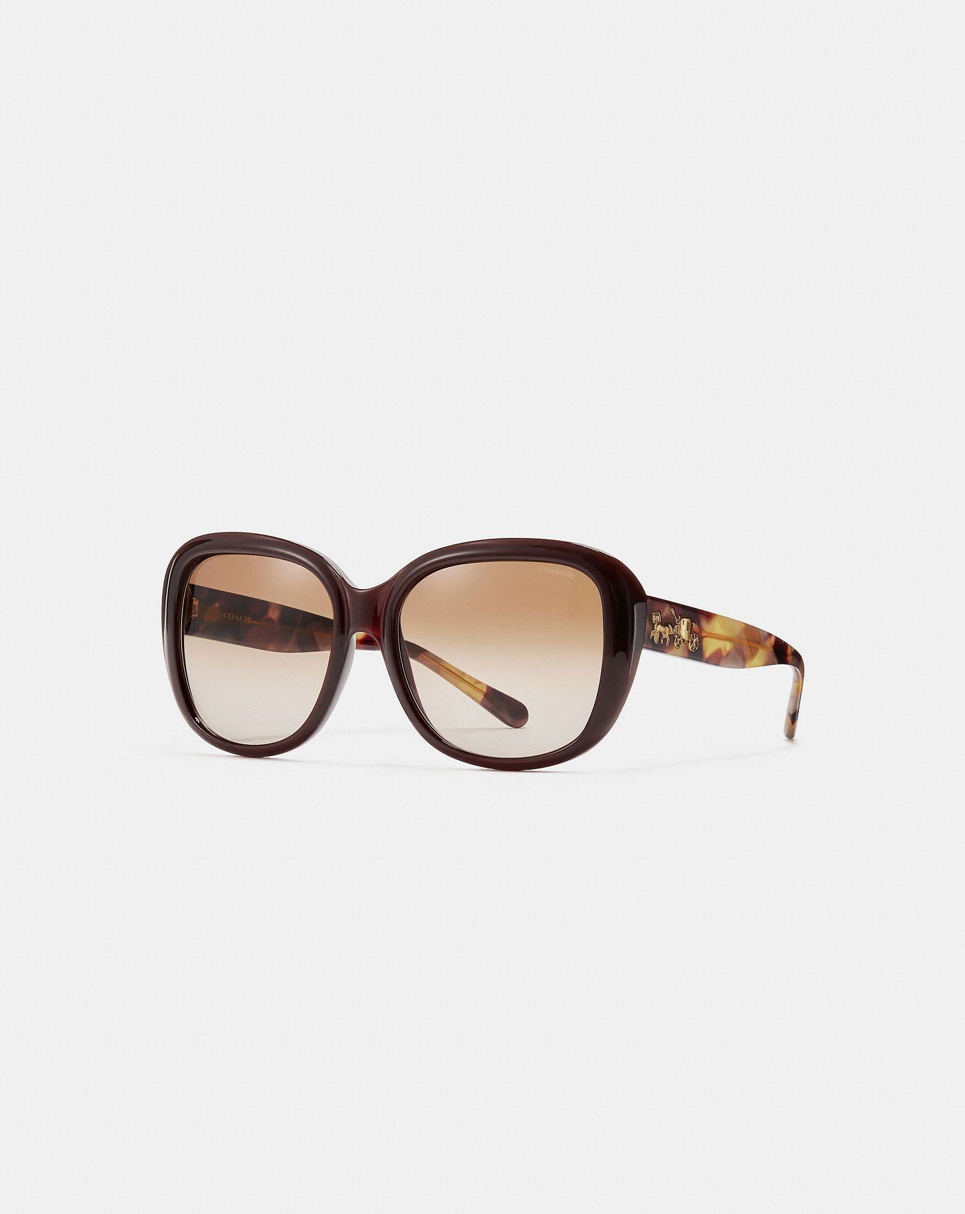 3456a29432be Horse and Carriage Soft Square Sunglasses | COACH