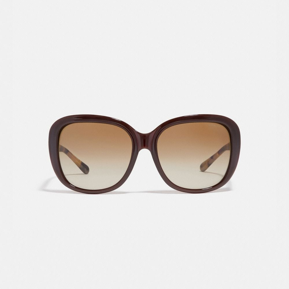 Coach Horse and Carriage Soft Square Sunglasses Alternate View 2