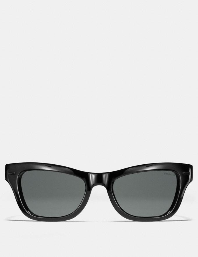 Coach Badlands Sunglasses Black Grey New Featured Rebellious Prints Alternate View 1