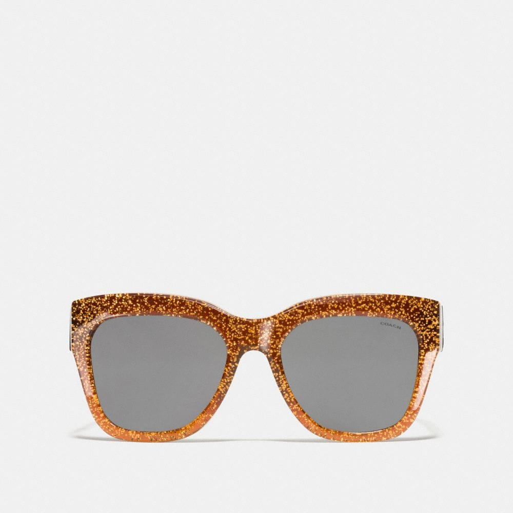 Coach Horse and Carriage Square Sunglasses Alternate View 1