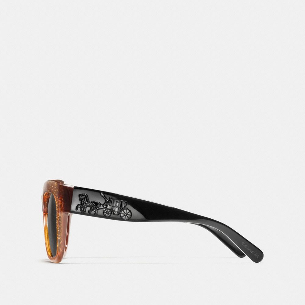 Coach Horse and Carriage Square Sunglasses Alternate View 2