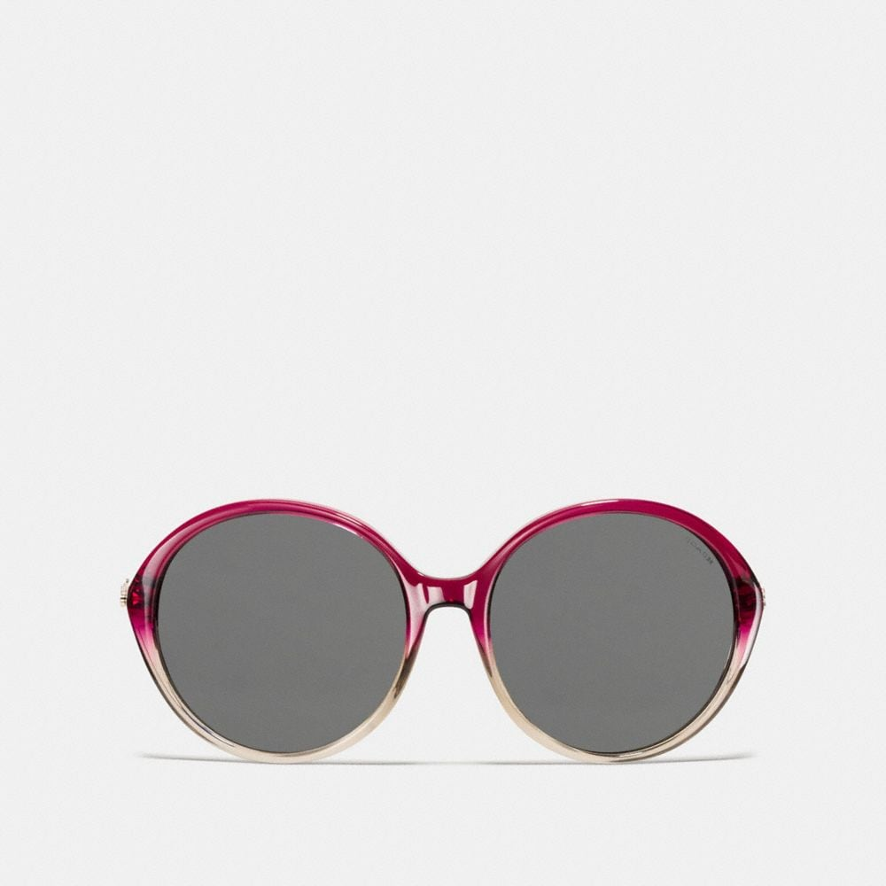 Coach Horse and Carriage Round Sunglasses Alternate View 1