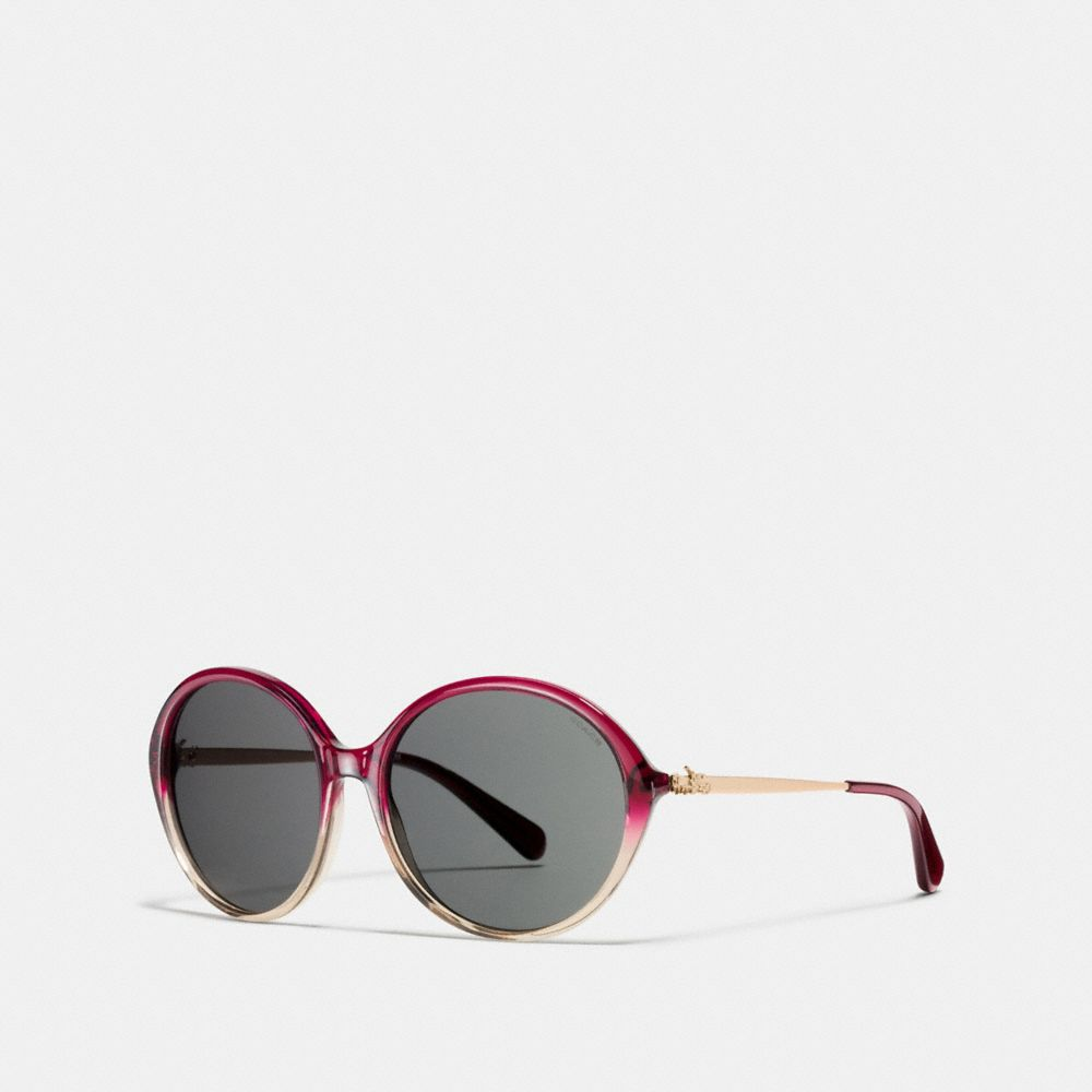 Coach Horse and Carriage Round Sunglasses