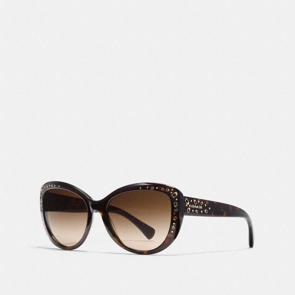 SIGNATURE SPRAY ASIAN FIT CAT EYE SUNGLASSES