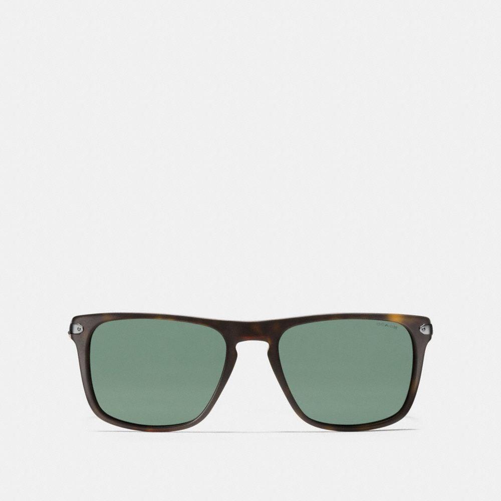 Coach Tag Temple Square Sunglasses Alternate View 1