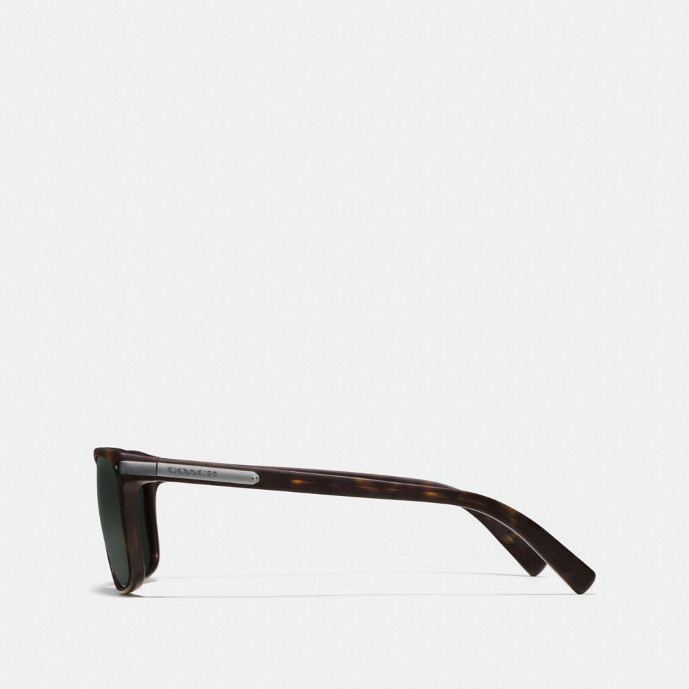 Coach Tag Temple Square Sunglasses Alternate View 2
