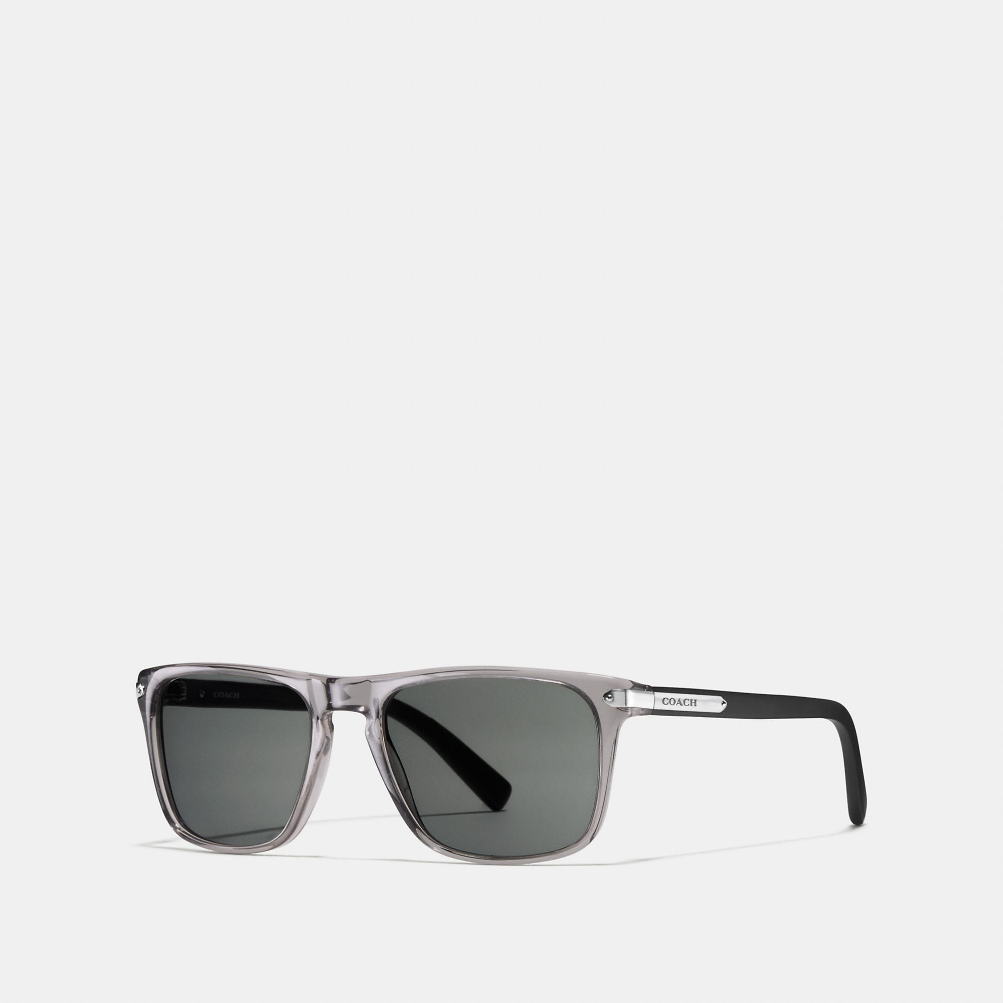 Coach Tag Temple Square Sunglasses