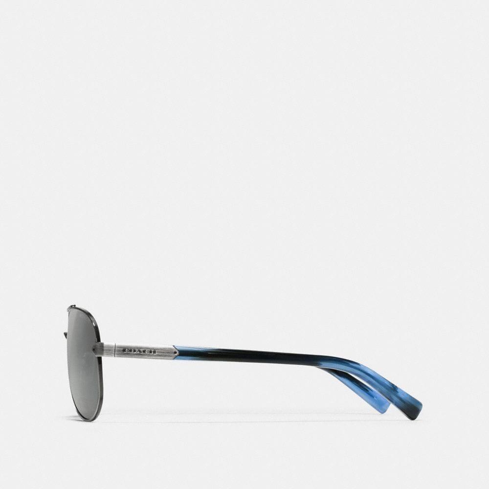 Coach Tag Temple Pilot Sunglasses Alternate View 2