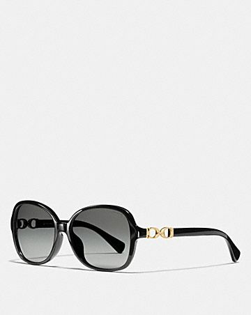 KISSING C RECTANGLE SUNGLASSES