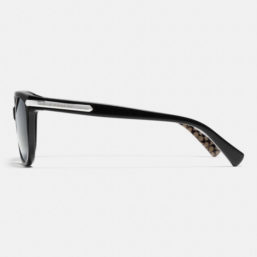 Coach Tag Temple Cat Eye Polarized Sunglasses Alternate View 2