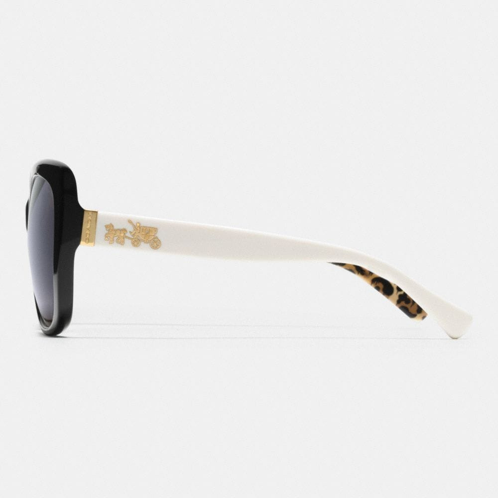 Horse and Carriage Square Polarized Sunglasses - Alternate View L2