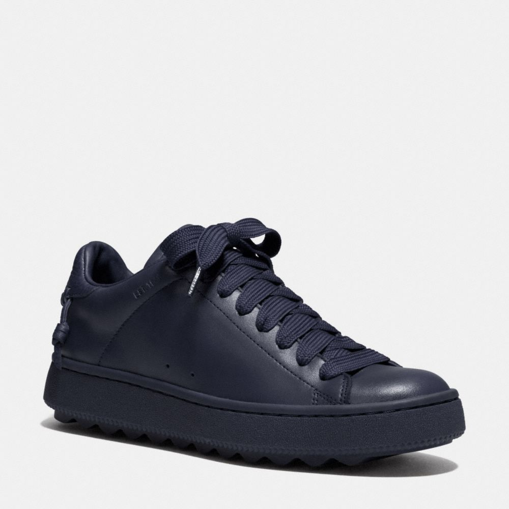 LEATHER C101 LOW TOP SNEAKER