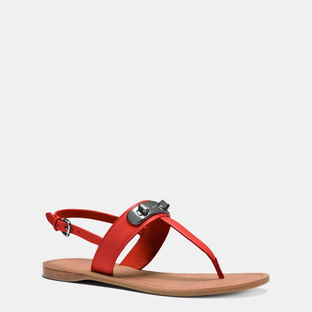 Coach Gracie Swagger Sandal